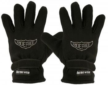 """(40385-56519) Fleece Handschuhe mit Einstickung """"RIDEFREE"""""""