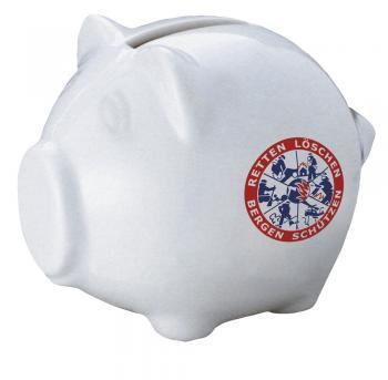 Keramik Sparschwein - Feuerwehr - 22261