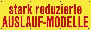 Banner Werbebanner - stark reduzierte Auslauf Modelle - 3x1m - Spannband für Ihren Werbeauftritt / Bedruckt mit Ihrem Motiv - 309975