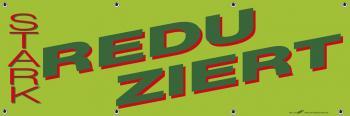 Banner Werbebanner - Stark Reduziert - 3x1m - Spannband für Ihren Werbeauftritt / Bedruckt mit Ihrem Motiv - 309977