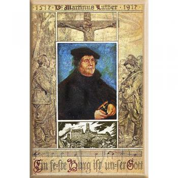 Magnet - Martin Luther - Gr. ca. 8 x 5,5 cm - 38295