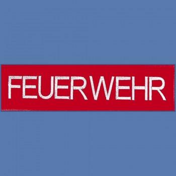 Rücken-Aufnäher große Applikation - 08511 - ca. 30x9 cm Stick Emblem Feuerwehr