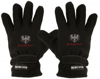 Handschuhe Fleece mit Einstickung Frankfurt Adler 56464
