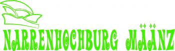"""(AP2042) Applikations- Schrift- Aufkleber / Beschriftung Dekor """"Narrenhochburg Määnz"""""""