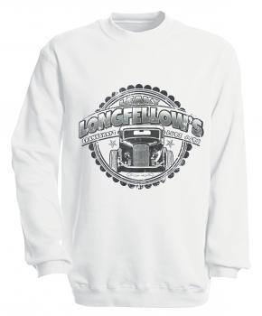 Sweatshirt mit Print - Longfellows - versch. farben zur Wahl - S10281 - Gr. S-XXL