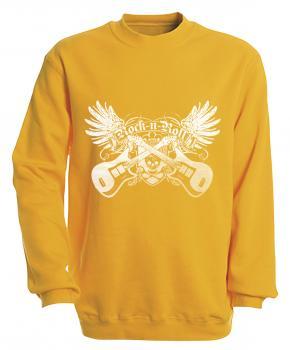 Sweatshirt - Rock´n Roll - S10248 - versch. farben zur Wahl - Gr. S-XXL