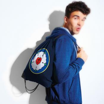 Trend-Bag mit Print - Luther Rose - 65083 - Turnbeutel Sporttasche Rucksack