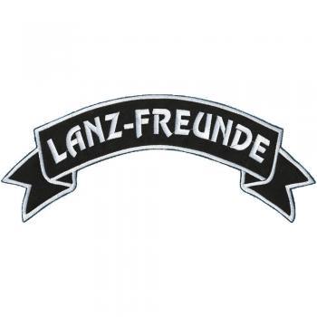 Rückenaufnäher - Lanz-Freunde - 07339 - Gr. ca. 28 x 7 cm - Patches Stick Applikation