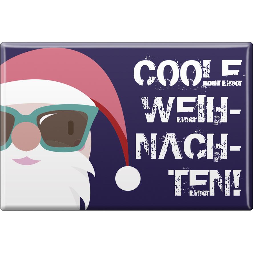 Kühlschrankmagnet Weihnachten Coole Weihnachten Gr Ca 8 X 5