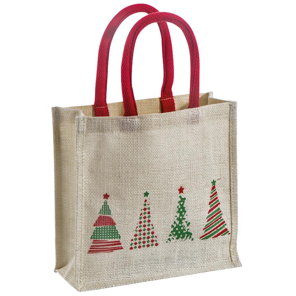 Jute-Tasche - Weihnachtsmotiv - 74129 - Shopper Weihnachten ...