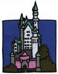 Aufnäher - Schwanstein - 00342 - Gr. ca. 7 x 9,5 cm