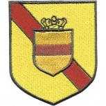 Aufnäher Patches Applikation Aufnähwappen Wappen - BADEN - 00436 - Gr. ca. 5x6cm