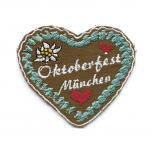 Aufnäher - Oktoberfest München - 00883 - Gr. ca. 5cm x 4cm