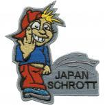 Aufnäher Pinkelmännchen - Japan Schrott - 01935 - Gr. 8cm x 11cm