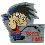 Aufnäher - Speed Limit - 01960 - Gr. ca. 8cm x 11cm