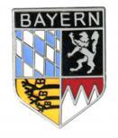 Anstecknadel - Metall - Pin - Bayern Wappen - 02180
