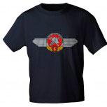 T-Shirt mit Print - Feuerwehr DDR - 09223 blau - Gr. S-XXL