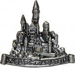Anstecknadel - Metall - Pin - Schloss Neuschwanstein - 02671