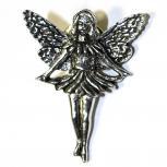 Anstecknadel Metall Pin - Fee Elfe - 02678