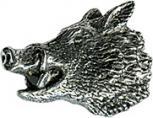 Anstecknadel - Metall - Pin - Keiler Seitenansicht Kopf - 02745