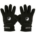 "(40385-56508) Fleece Handschuhe mit Einstickung ""YING YANG"""