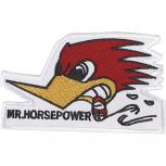Aufnäher - Mr. Horsepower - 03005 - Gr. ca. 10 x 6cm - Patches Stick Applikation