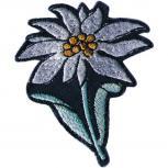 Aufnäher - Edelweiß Blume - 03041 - Gr. ca. 5,5 cm x 6,5 cm