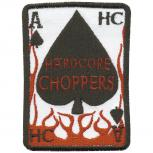 Aufnäher  - Hardcore Choppers - 04181 - Gr. ca. 8,5 x 6,5 cm - Patches Stick Applikation