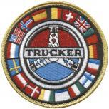 Aufnäher - Trucker - 04467 - Gr. ca. 9 cm - Patches Stick Applikation