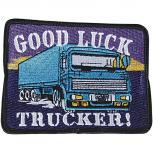 Aufnäher - Good Luck Truck - 04701 - Gr. ca. 10 x 8 cm - Patches Stick Applikation