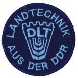 Aufnäher Applikation DLT Landtechnik aus der DDR - 04884 Gr. ca 6,5cm