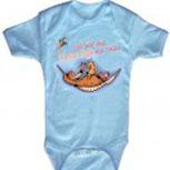 Babystrampler mit Print – Ich hab´den besten Papa der Welt – 08318 blau - 0-24 Monate