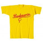 (10447-1) MarkenT-Shirt unisex mit Aufdruck • BADENERIN • Gr. S-XXL