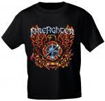 T-Shirt mit Print - Feuerwehr - 10592 Gr. S-2XL - versch. Farben zur Wahl  -