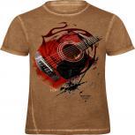 """(12961) Trendiges Designer T-Shirt  """"down to earth"""" von ROCK YOU© MUSIC SHIRTS  Gr. S – XXL"""