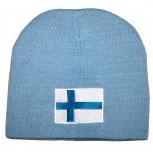 Beanie Mütze Norwegen 54896 blau