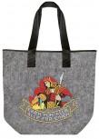 hochwertige Filztasche mit Stickmotiv - Feuerwehr – 26135 - Bag /Shopper