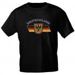 T-Shirt unisex mit Aufdruck - DEUTSCHLAND - 09421 - Gr. S-XXL