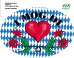 Aufkleber - I mog Di - 301442 - Gr. ca. 17,4 x 11,8 cm