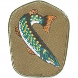 Aufnäher - Fisch Aal - 04664 - Gr. ca. 8-11cm