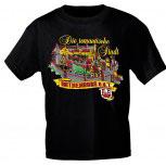 T-Shirt unisex mit Aufdruck - ROTHENBURG - 09429 - Gr. S-XXL