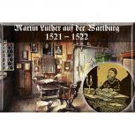 Küchenmagnet - Martin Luther a.d. Wartburg - Gr. ca. 8x5,5cm - 38291 - Magnet