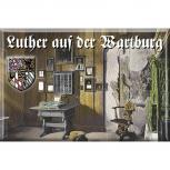 Küchenmagnet - Luther a.d. Wartburg - 38296 - Gr. ca. 8x5,5cm - Magnet