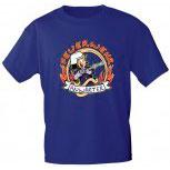 Kinder T-Shirt mit Print - Feuerwehr Anwärter - 06909 versch. Farben zur Wahl - Gr. 86 - 164