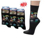 (56355) 3er Pack SOCKEN Damen + Herren Gr. 37-46 - O´ZAPFT IS - Oktoberfest