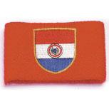 Pulswärmer - Paraguay - 56553 - Frottee-Schweißband rot