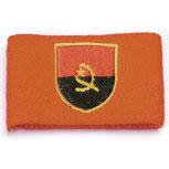 Pulswärmer - Angola - 56555 - Frottee Schweißband rot