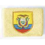 Pulswärmer - Ecuador - 56566 - Schweißband gelb
