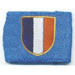 Pulswärmer Schweißband - Frankreich - 56568 blau