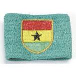 Schweißband - Ghana - 56574 - Pulswärmer grün